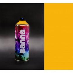 Dark Yellow Graffiti Spray...