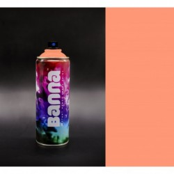 Dark Peach Graffiti Spray...