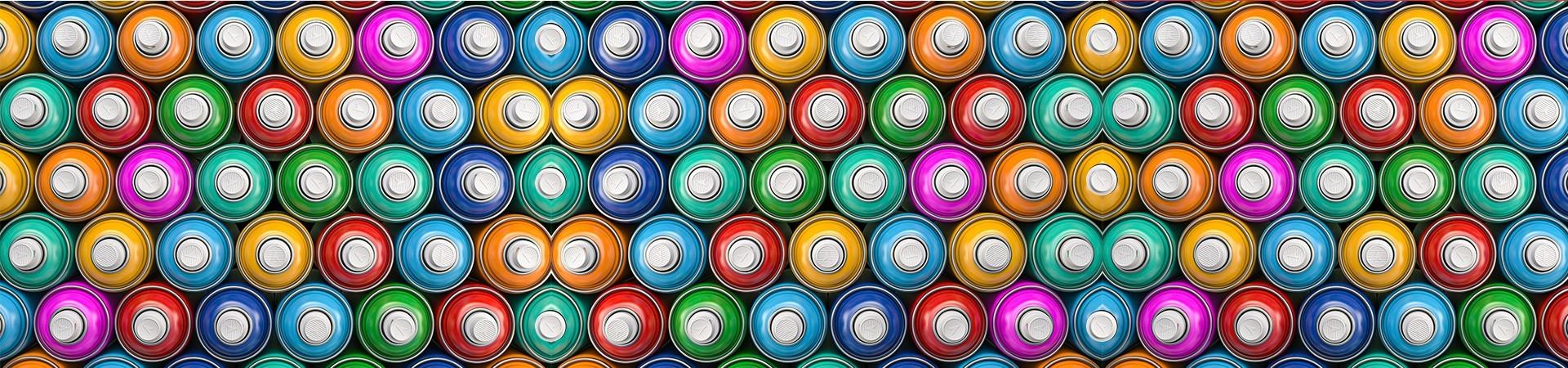 Buy Graffiti spray paints online | Banna Aerosol